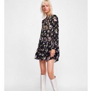 Zara Floral Print Tunic - sz M